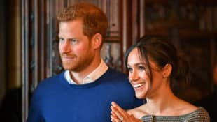 Prince Harry & Meghan Markle Make New Appearance From L.A. Home In Zoom Call With Charity Group
