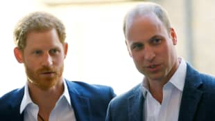 """Prince Harry & Prince William's """"Unique & Complex"""" Relationship Is Subject Of New Book 'Battle Of Brothers'"""