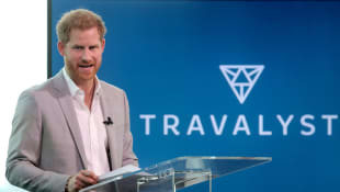Prince Harry's first appearance since 'Finding Freedom' excerpts were released.