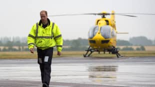 Prince Willam Air Ambulance Week 2020 Letter Queen Royal Family