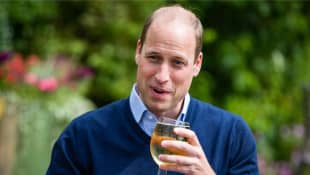 Prince William Grabs A Pint During Visit To Mark The Reopening Of U.K. Pubs