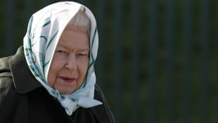 Pictures: The Queen Steps Out At Balmoral Castle in 2020.