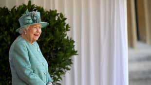 Queen Elizabeth II's official birthday celebration 13 June 2020.