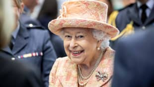 """Queen Elizabeth II Steps Out For First Royal Engagement Since """"Megxit"""""""
