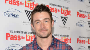 "Robert Buckley attends the ""Pass The Light"" film premiere at ArcLight Hollywood on February 2, 2015 in Hollywood, California"