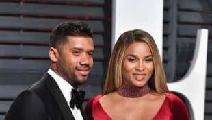 Russell Wilson Reveals Wife Ciara's Delivery Room Experience, Says She Almost Broke His Hand!