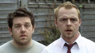'Shaun Of The Dead': Simon Pegg & Nick Frost Recreate Famous Scene For Social Distancing Message