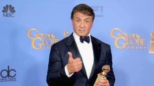 Sylvester Stallone Embraces Gray Hair In New Motivational Instagram Video