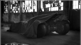 "'The Batman': The Batmobile For Robert Pattinson's ""Batman"" Movie Unveiled In New Photos"