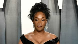 Tiffany Haddish attends the 2020 Vanity Fair Oscar Party