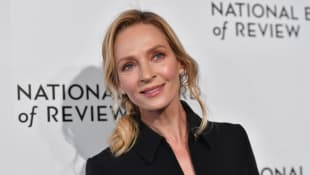 Uma Thurman attends the 2020 National Board Of Review Gala on January 8, 2020 in New York City.