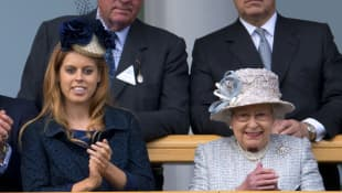 What The Queen Said About Princess Beatrice's Wedding At Knighthood Ceremony