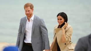 Why Meghan Markle Was Scolded Over Public Display Of Love For Prince Harry