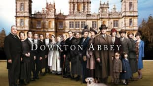 "The cast of ""Downtown Abbey"""