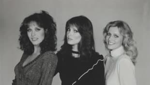 """Charlie's Angels"" stars Tanya Roberts, Jaclyn Smith and Cheryl Ladd"