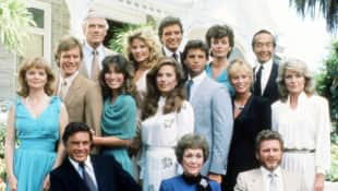 Cast of 'Falcon Crest'