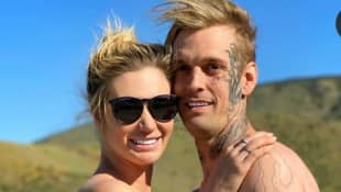 Aaron Carter's New GF Shades His Ex-Fiancé.