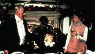 Sir Alec Guiness, Ricky Schroder and Connie Booth in Little Lord Fauntleroy.