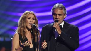 "Andrea Bocelli And Celine Dion Send Message Of Unity In Lyric Video For Beloved Track ""The Prayer"""