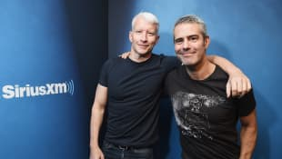Andy Cohen Reveals His Son Ben's Former Nanny Is Now Anderson Cooper's Son Wyatt's Nanny
