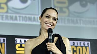 Angelina Jolie at Comic-Con 2019