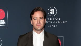 Armie Hammer Shows Off Wild New Moustache and Mohawk In Quarantine