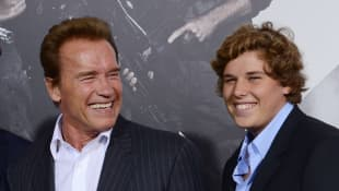 Arnold Schwarzenegger posts touching picture to celebrate his son Chris' university graduation!