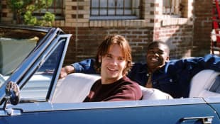 Barry Watson and Chaz Lamar in '7th Heaven'