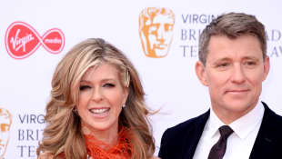 'GMB': Derek Shepherd Says Kate Garraway Has Spoken To Her Husband While He's In A Coma