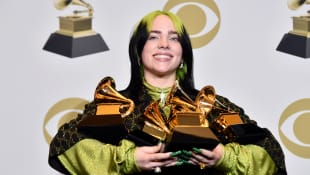Billie Eilish becomes the youngest artist to sweep the big four categories at the Grammys!