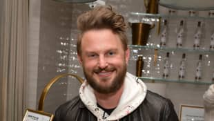 Bobby Berk celebrates Adam Rippon's 'Break The Ice' wrap party hosted by Ketel One Family Made Vodka and Portal A, at Hills Penthouse on December 18, 2019 in West Hollywood, California