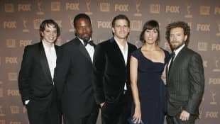 "The ""Bones"" cast in 2010"