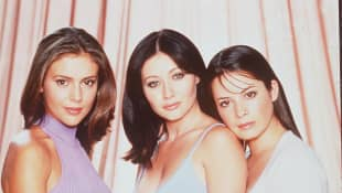 The cast of 'Charmed': Alyssa Milano, Shannen Doherty and Holly Marie Combs
