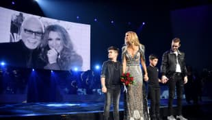 Céline Dion's final performance in Las Vegas