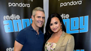 "Demi Lovato opens up about the time she came out to her parents noting the ""beautiful"" and ""emotional"" moment!"