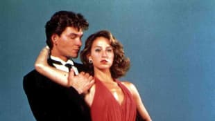 Dirty Dancing: Amazing new footage shows Patrick Swayze and Jennifer Grey practicing the famous dance moves.