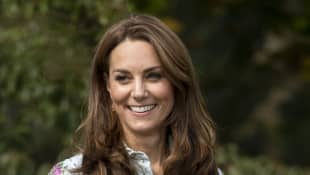 "Catherine, Duchess of Cambridge attends the ""Back to Nature"" festival at RHS Garden Wisley on September 10, 2019"
