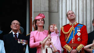 See Prince William and Duchess Kate's birthday message to Prince Philip