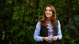 Duchess Kate Receives New Role As She Visits London Scout Group