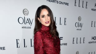 Actress Meghan Markle attends ELLE's 6th Annual Women In Television Dinner at Sunset Tower Hotel on January 20, 2016