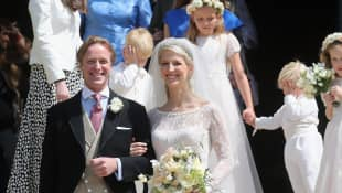 Lady Gabriella Windsor and Mr. Thomas Kingston