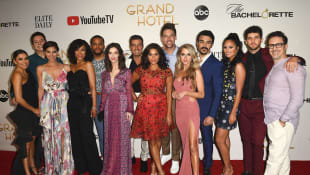 The cast of 'Grand Hotel' at the premiere in Miami on June 10th, 2019