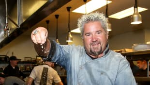 Celebrity chef and TV personality for The Food Network: Guy Fieri. What is he doing today?