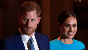 Harry And Meghan Celebrated First Wedding Anniversary With Meghan's Mom Doria