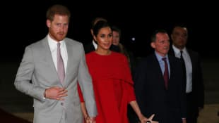 Prince Harry and Duchess Meghan visit Morocco