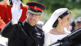 Meghan Markle's romantic wedding anniversary gift to Prince Harry.