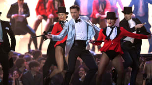 Hugh Jackman Performing at The BRIT Awards 2019
