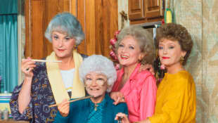 The Cast of 'The Golden Girls'.