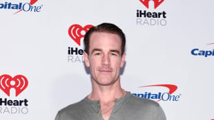 James Van Der Beek shows off abs from Dancing With The Stars in new shirtless selfie!