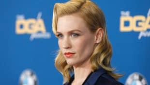 January Jones attends the 67th Annual Directors Guild Of America Awards at the Hyatt Regency Century Plaza on February 7, 2015 in Century City, California